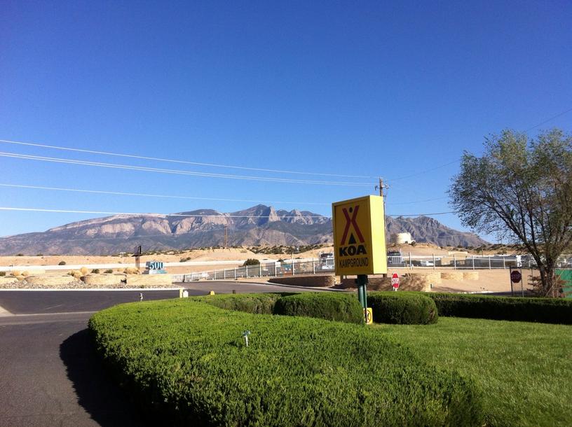 Albuquerque North Bernalillo Koa Campsite Photos