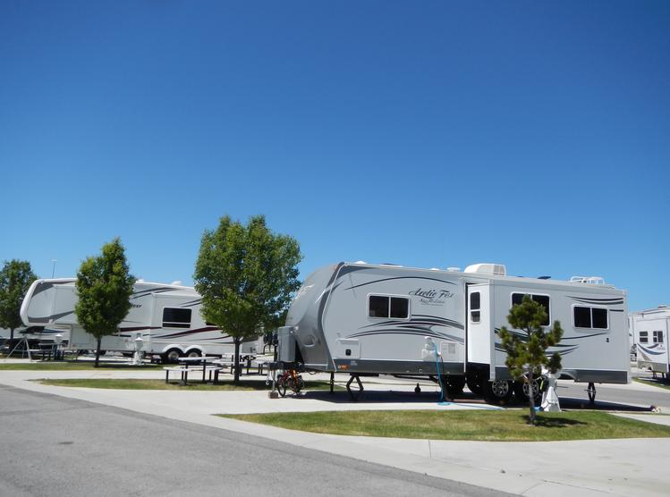 Pony Express Rv Resort Campsite Photos
