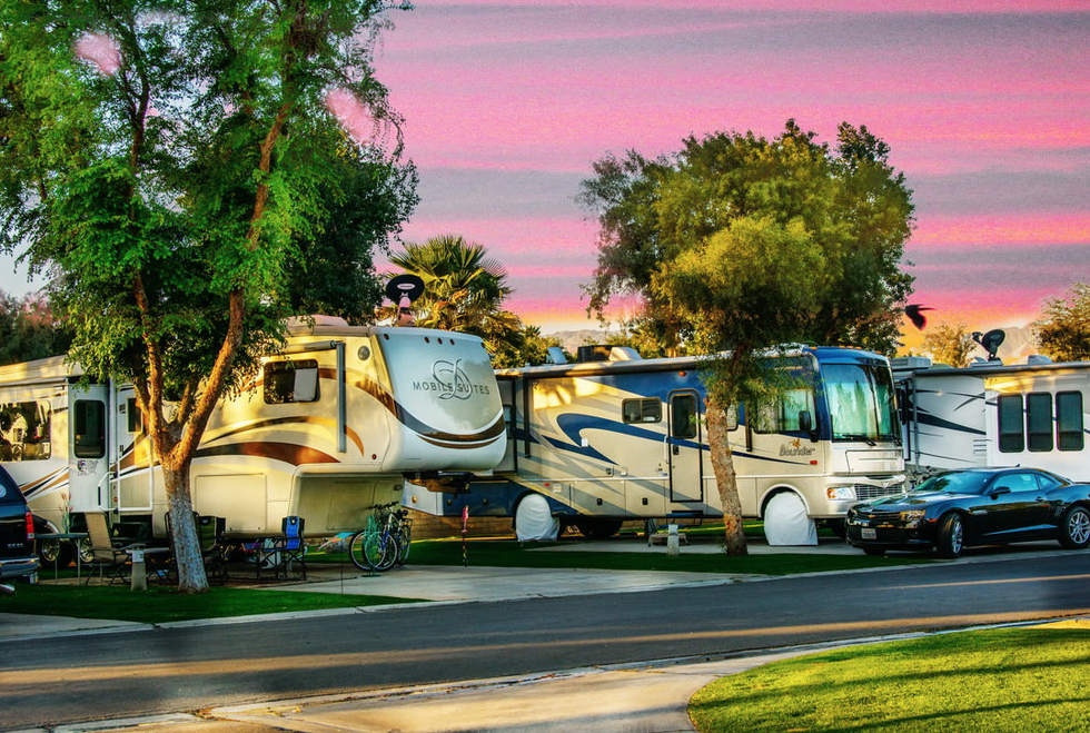 Emerald Desert Rv Resort Campsite Photos