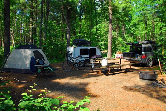 Land of 10,000 Lakes - Campsite Photos