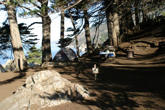 Big Sur's Best Campsites - Julia Pfeiffer Burns State Park