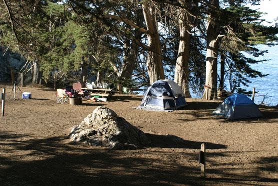 Big Sur's Best Campsites - Julia Pfeiffer Burns State Park