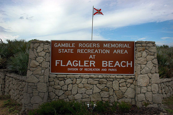 Gamble Rogers Sign