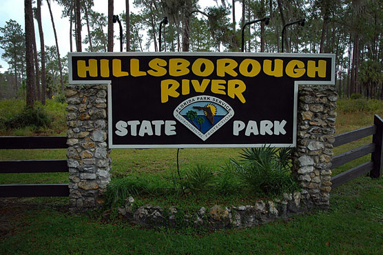 Hillsborough River Sign