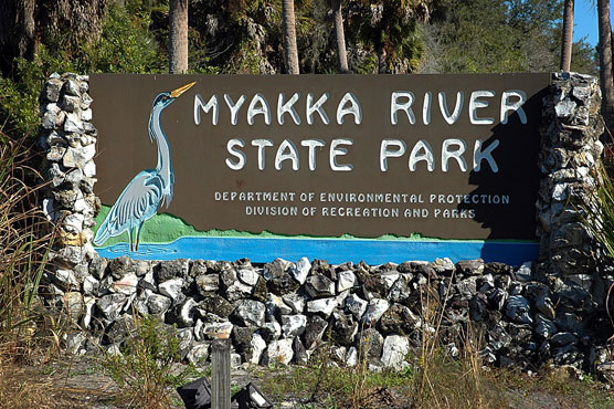 Myakka River Sign