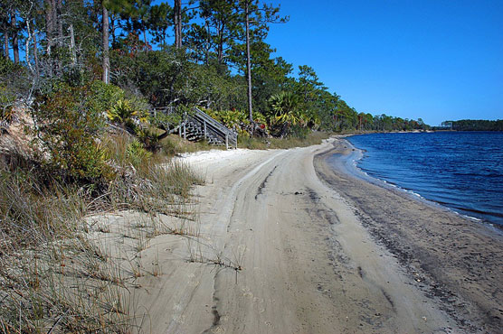 Ochlockonee River Beach
