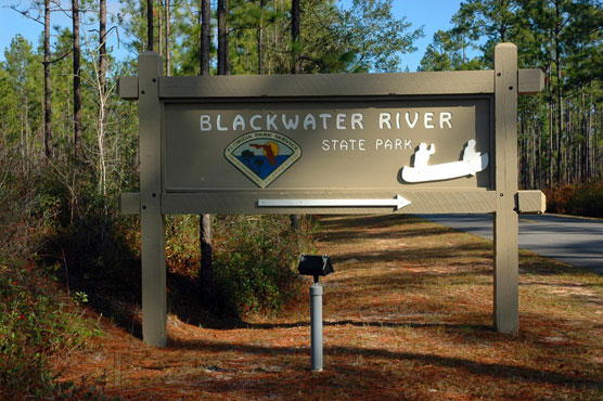 Blackwater River Sign