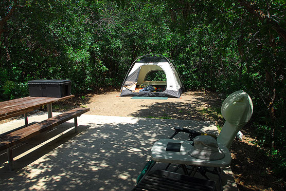 Oak Hollow Campsite