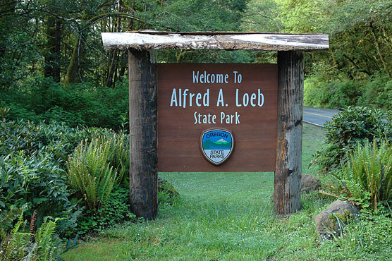 Alfred A. Loeb Sign