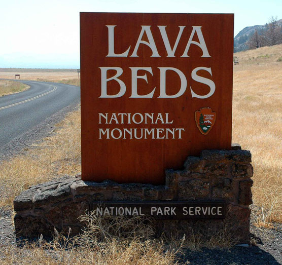 Lava-Beds-Sign