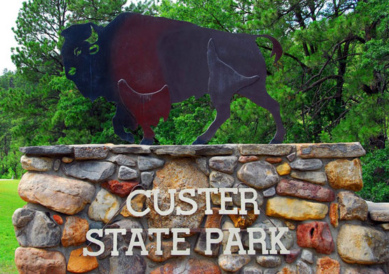 Custer-Sign