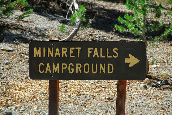 Minaret-Falls-Sign