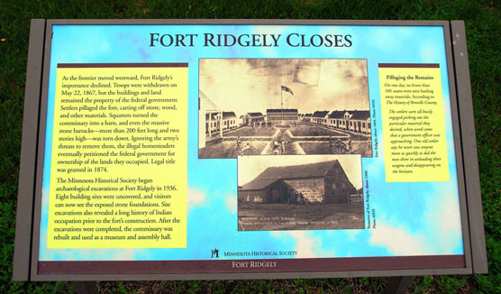 Fort-Ridgely-Closes