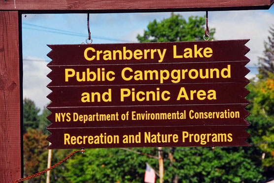 Cranberry-Lake-Sign