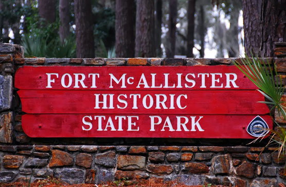 Fort-McAllister-Sign
