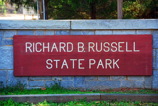 Richard-B-Russell-Sign