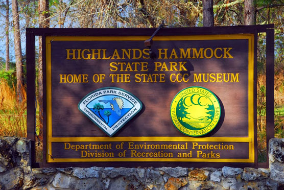 Highland-Hammocks-Sign