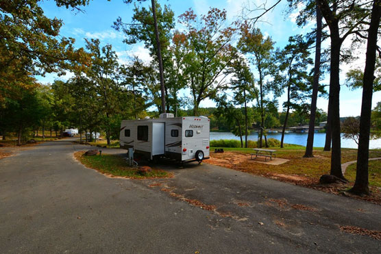 Another Taste of Texas (State Parks) - Campsite Photos