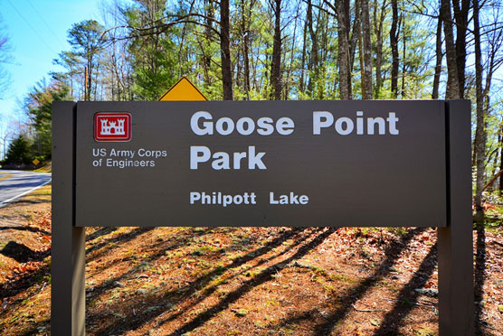 Goose-Point-Sign