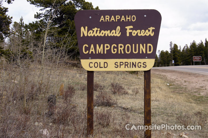 Cold Springs Sign