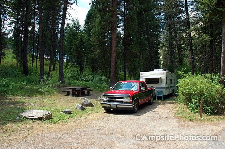 Warm Springs - Campsite Photos