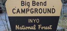 Big Bend – Inyo National Forest