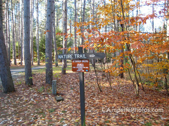 Otter River State Forest trailsign