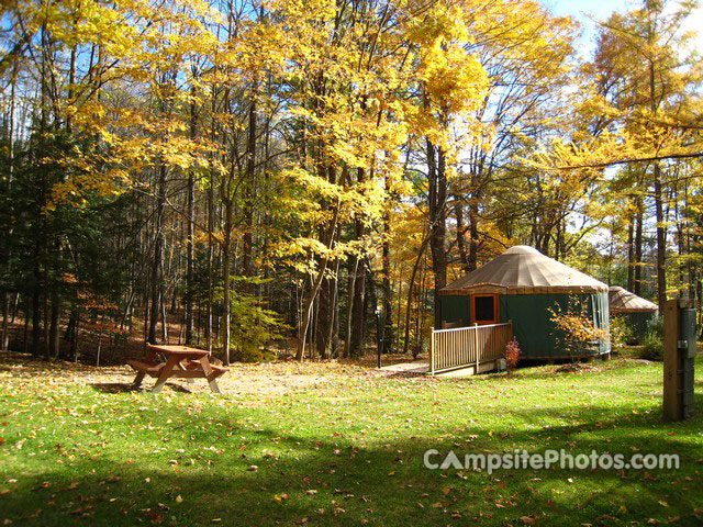 October Mountain State Forest Yurt2