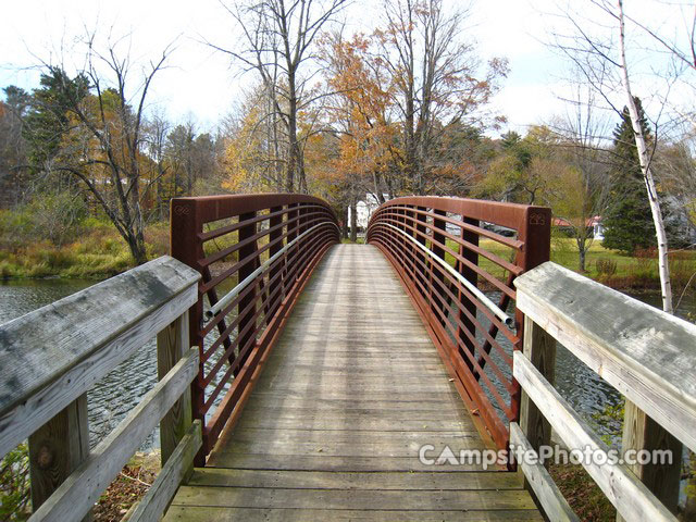 October Mountain State Forest walkbridge