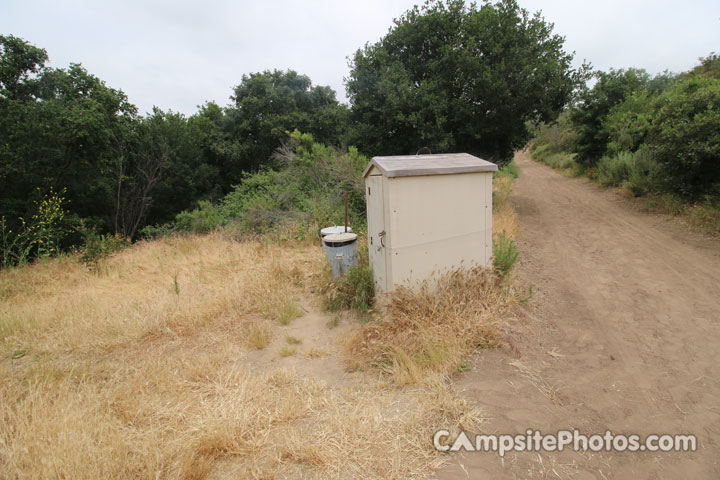 Crystal Cove State Park Deer Canyon Vault Toilet