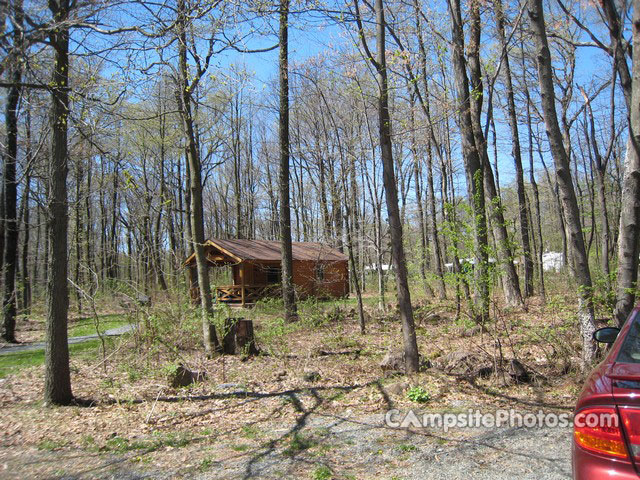 French Creek State Park Campsite Photos