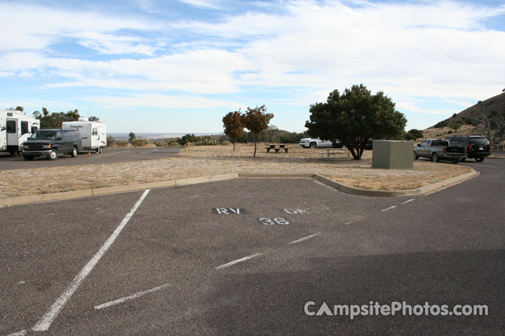 Guadalupe Mountains National Park Campsite Phots