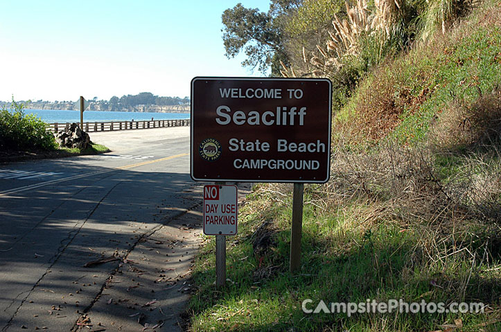 Seacliff State Beach Sign