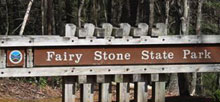 Fairy Stone State Park
