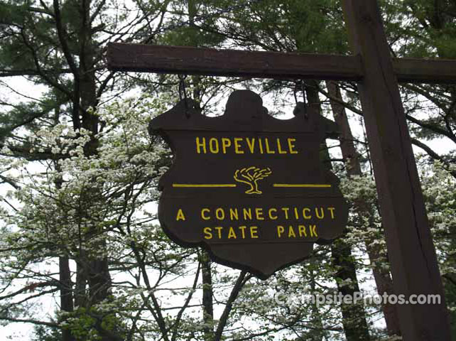 Hopeville Pond Sign