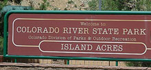 James M Robb Colorado River State Park Island Acres