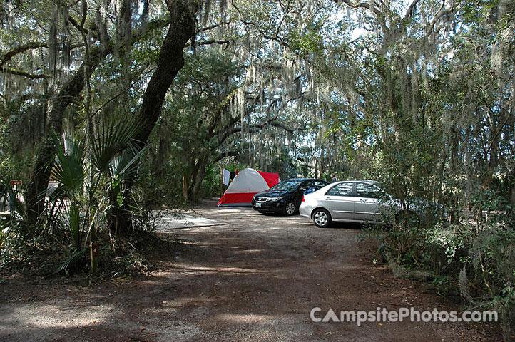 Little Talbot Island State Park Campground