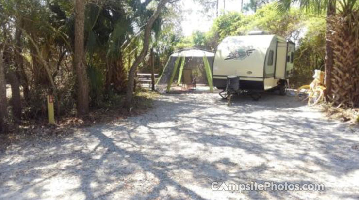 Grayton Beach State Park Campsite Photos Info