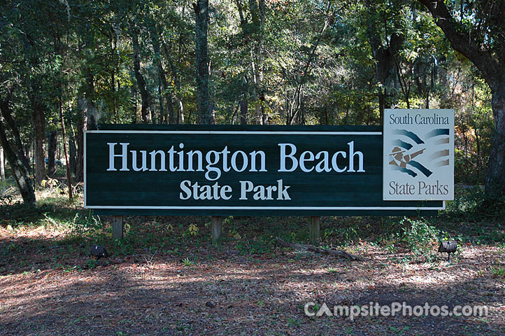 Huntington State Park Sign