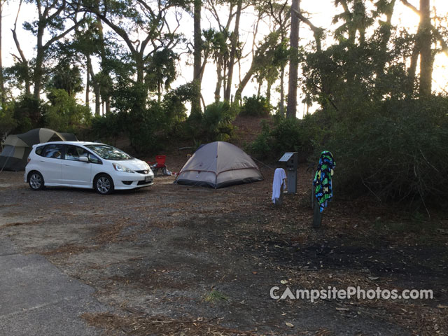 Image Result For Hunting Island State Park Sc Campground Map