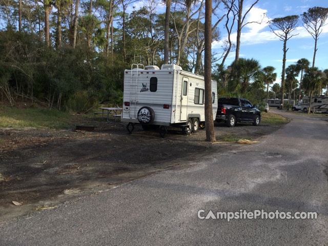 Hunting Island State Park Camping Map
