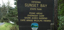 Sunset Bay State Park