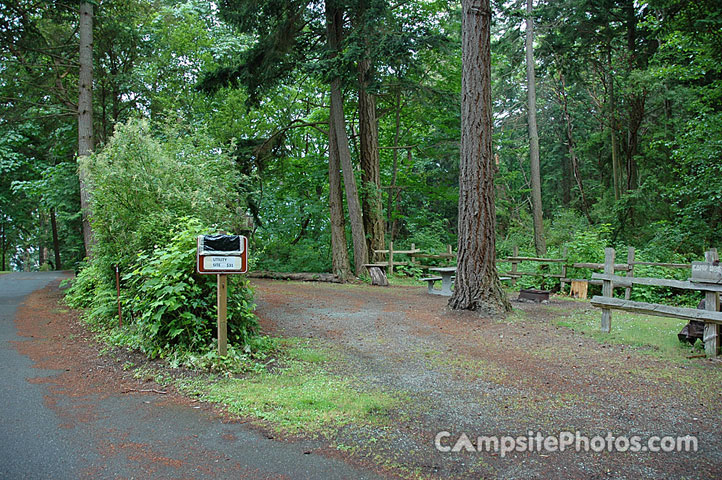 Whidbey island washington campgrounds with hookups