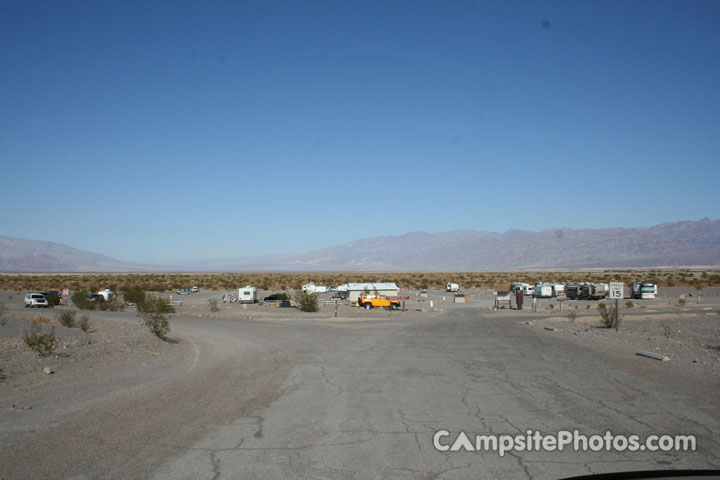 Stovepipe Wells Campground View