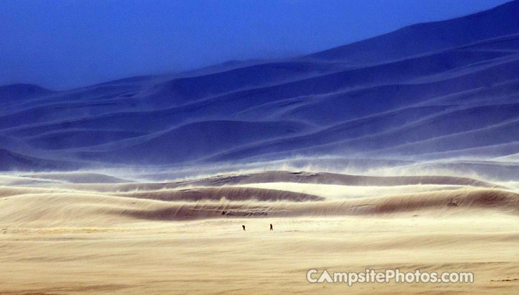 Great Sand Dunes Wind