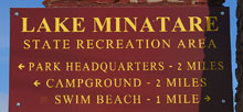 Lake Minatare State Recreation Area