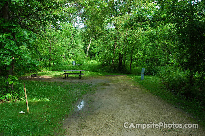 Whitewater State Park - Campsite Photos