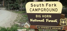South Fork Bighorn National Forest