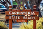 Carpinteria State Beach Sign