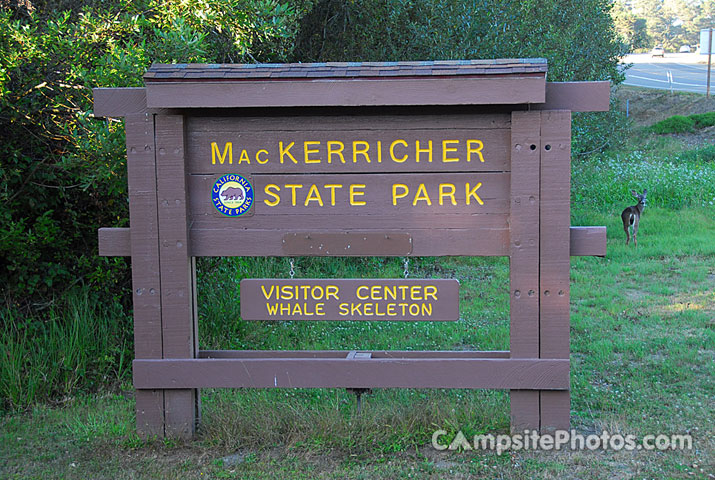 Mac Kerricher State Park Sign